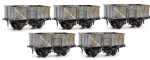 Dapol C037 - OO 20T 16T Mineral Wgon (pack of 5 Kits)